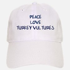 Peace, Love, Turkey Vultures Hat