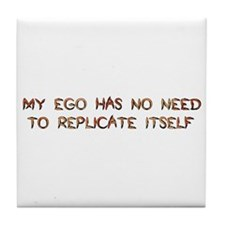 No Breeder Ego Tile Coaster