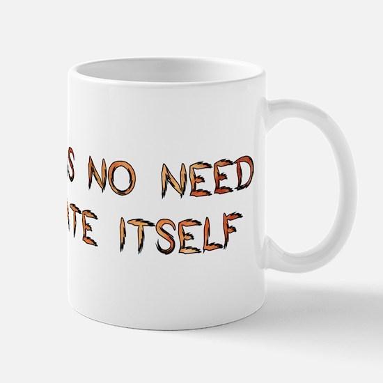 No Breeder Ego Mug