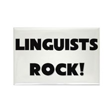 Linguists ROCK Rectangle Magnet