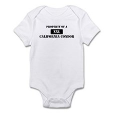 Property of a California Cond Infant Bodysuit
