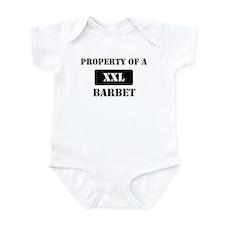 Property of a Barbet Infant Bodysuit