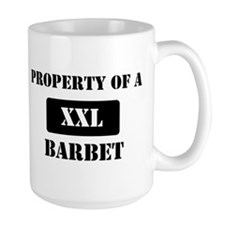 Property of a Barbet Mug