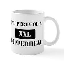 Property of a Copperhead Mug