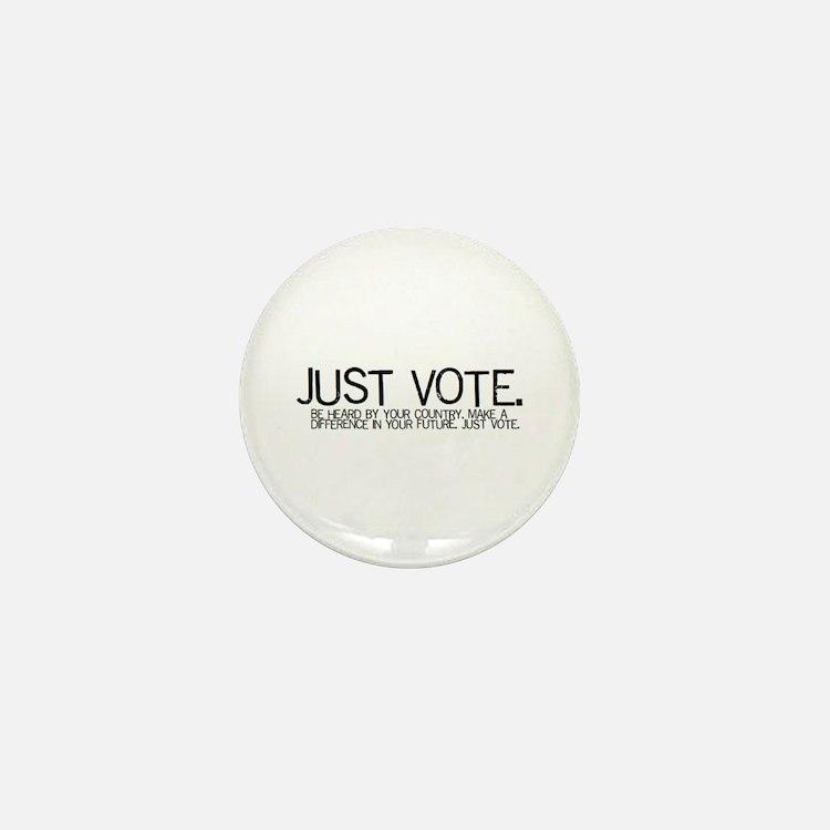 """1"""" Mini JUST VOTE Button"""