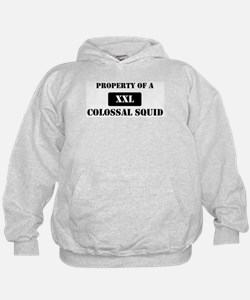 Property of a Colossal Squid Hoodie