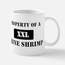 Property of a Brine Shrimp Mug