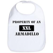 Property of a Armadillo Bib