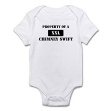 Property of a Chimney Swift Infant Bodysuit