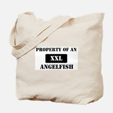 Property of a Angelfish Tote Bag