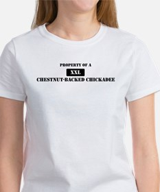 Property of a Chestnut-Backed Tee