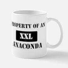Property of a Anaconda Mug