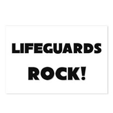 Lifeguards ROCK Postcards (Package of 8)