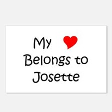 Josette Postcards (Package of 8)