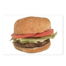 A Hamburger On Your Postcards (Package of 8)