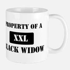 Property of a Black Widow Mug