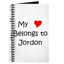 Jordon name Journal