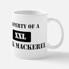 Property of a Black Mackerel Mug