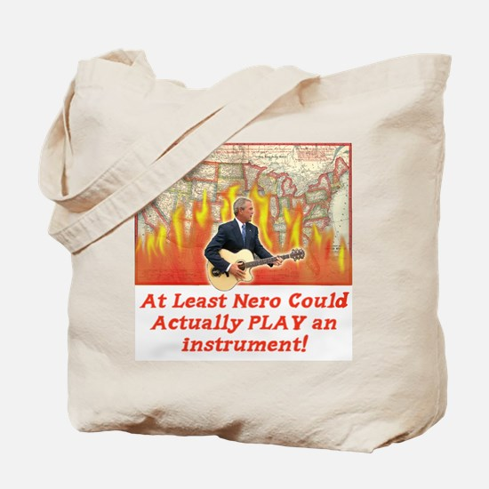 Bush Fiddled While America Bu Tote Bag