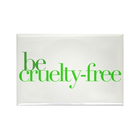 Be Cruelty-Free Rectangle Magnet (100 pack)