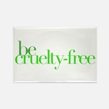 Be Cruelty-Free Rectangle Magnet (10 pack)