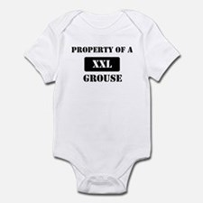 Property of a Grouse Infant Bodysuit