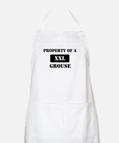 Property of a Grouse BBQ Apron