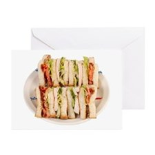 A Club Sandwich On Your Greeting Cards (Package of
