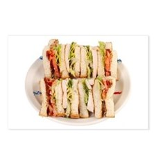 A Club Sandwich On Your Postcards (Package of 8)