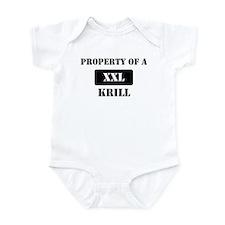 Property of a Krill Infant Bodysuit