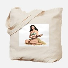 Mandolin Girl Tote Bag