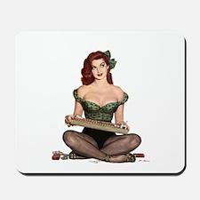Cigarette Girl Mousepad