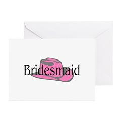 Bridesmaid Greeting Cards (Pk of 10)