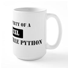 Property of a Green Tree Pyth Mug