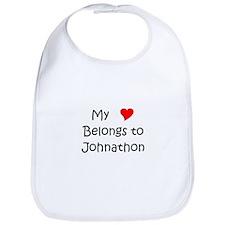 Johnathon name Bib