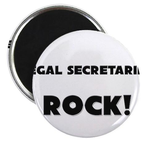 Legal Secretaries ROCK Magnet