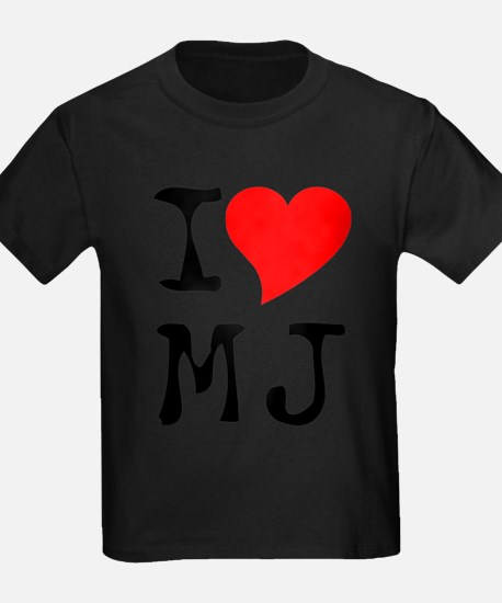 I Love MJ Tee T-Shirt