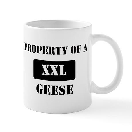 Property of a Geese Mug