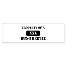 Property of a Dung Beetle Bumper Sticker (10 pk)