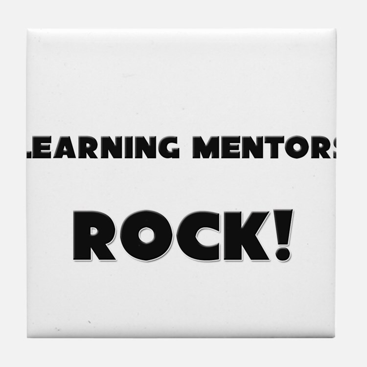 Learning Mentors ROCK Tile Coaster