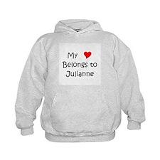 Cute My name julianne Hoodie
