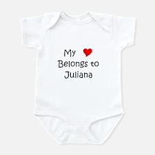 Cute Juliana Infant Bodysuit