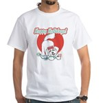 Happy Holidays! dog T-shirt!