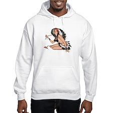 Indian Girl Hoodie