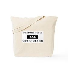 Property of a Meadowlark Tote Bag