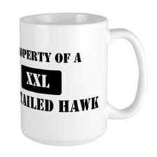 Property of a Red-Tailed Hawk Mug