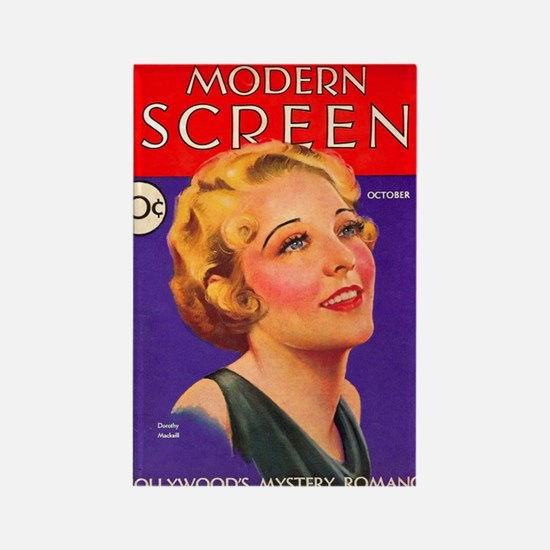 Dorothy Mackaill 1931 Rectangle Magnet