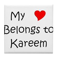 Kareem Tile Coaster