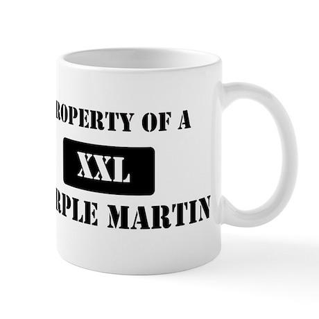 Property of a Purple Martin Mug