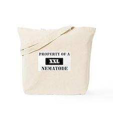Property of a Nematode Tote Bag